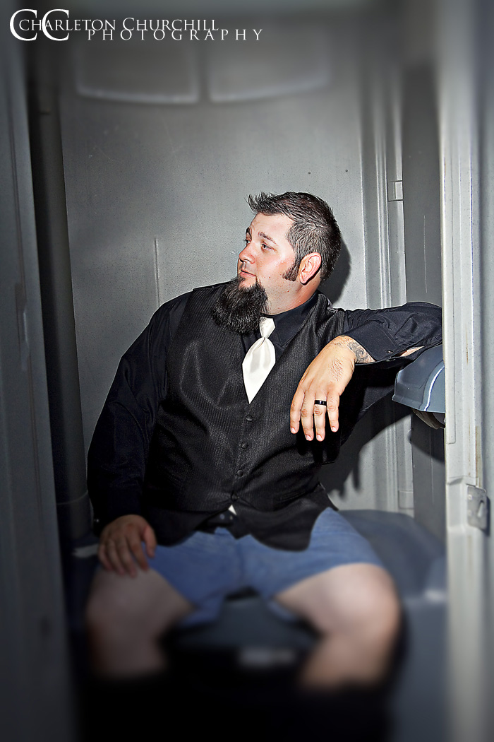 hilarious picture groom on potty