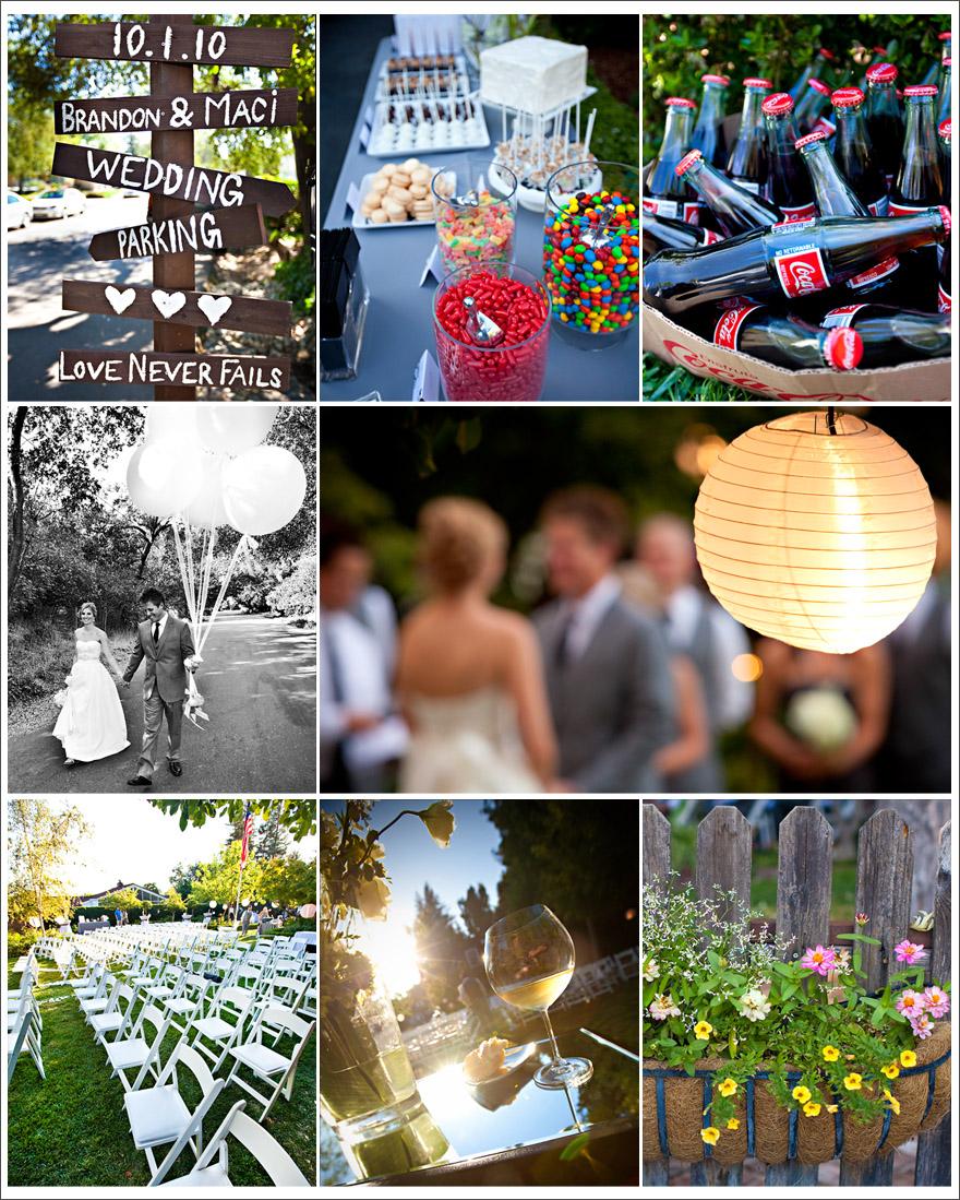 Sacramento photojournalism using a storyboard for a wedding blog