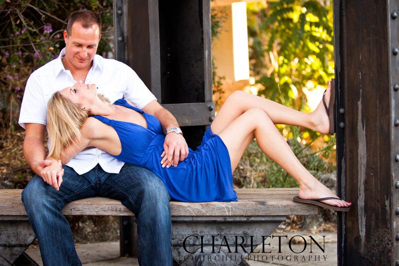 wedding couple engaged photographs downtown folsom