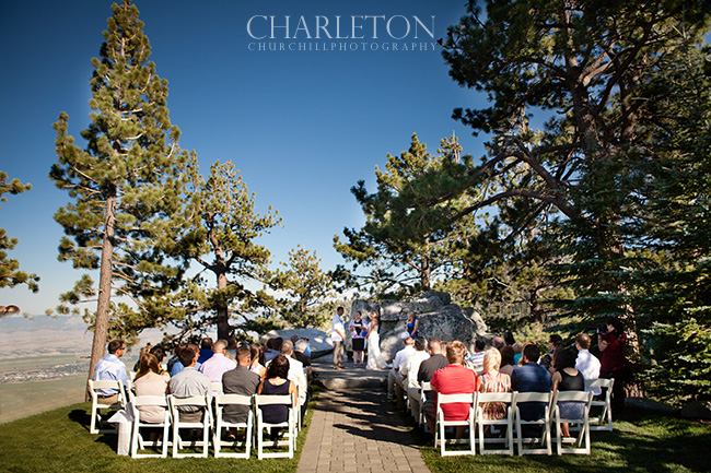 Ridge resort tahoe wedding club