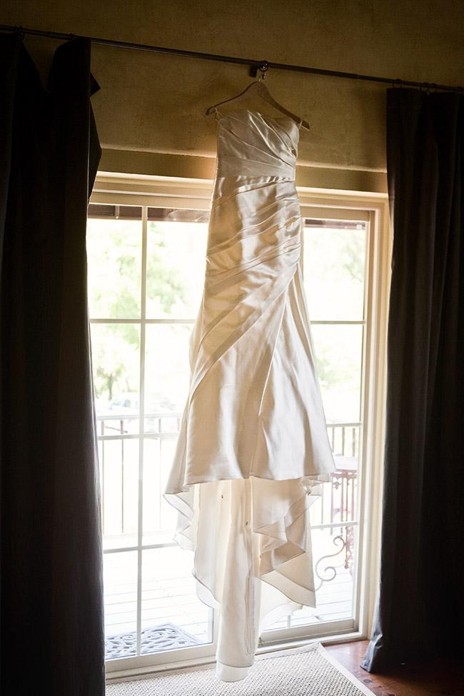 wedding dress in murphys wineries