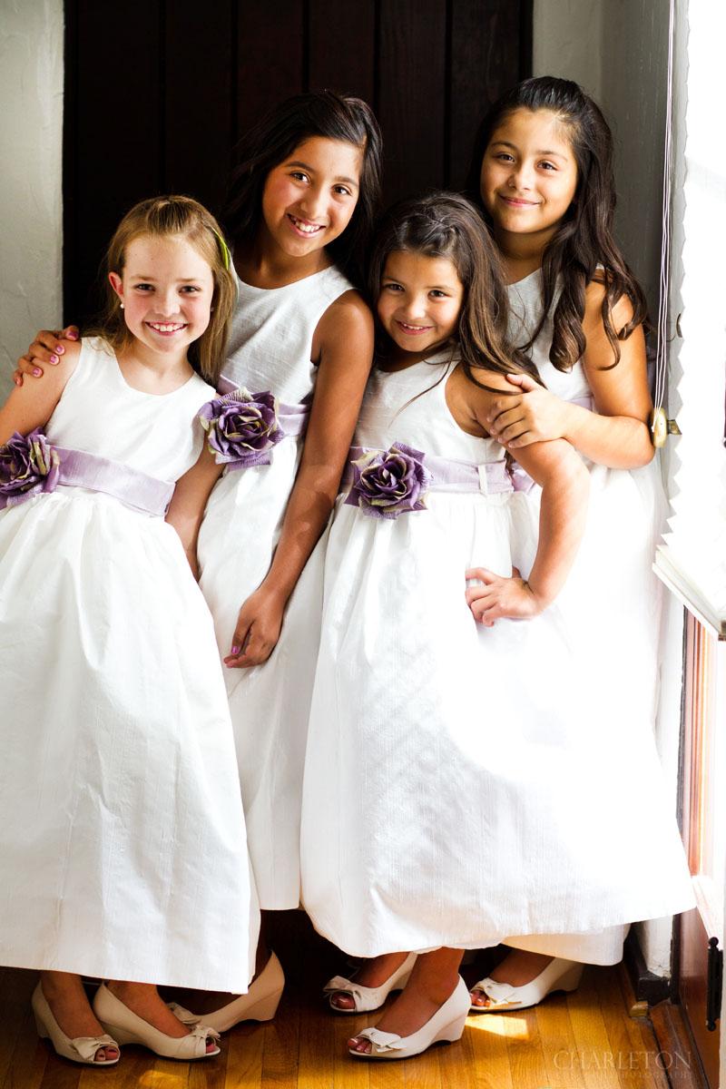 wedding flower girls diamond bar