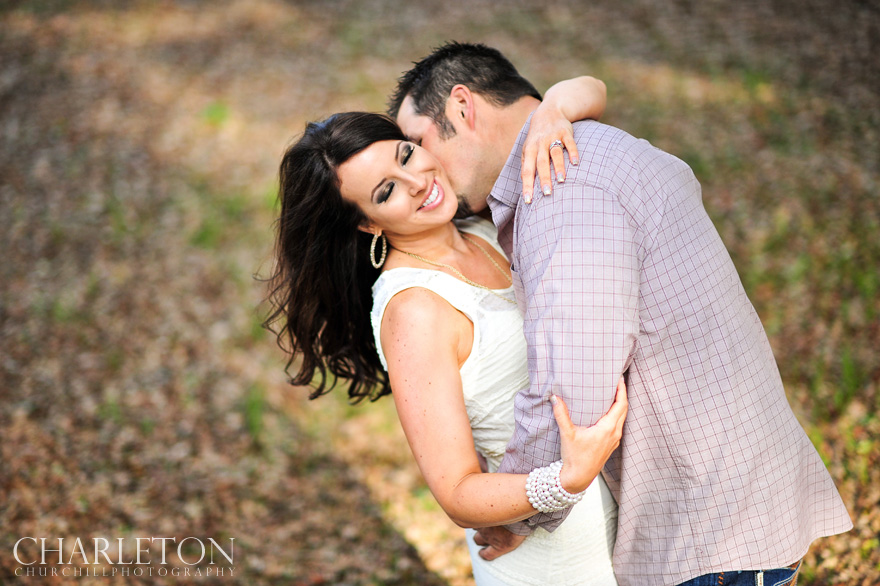 rustic amador Pine Grove engagment session picture