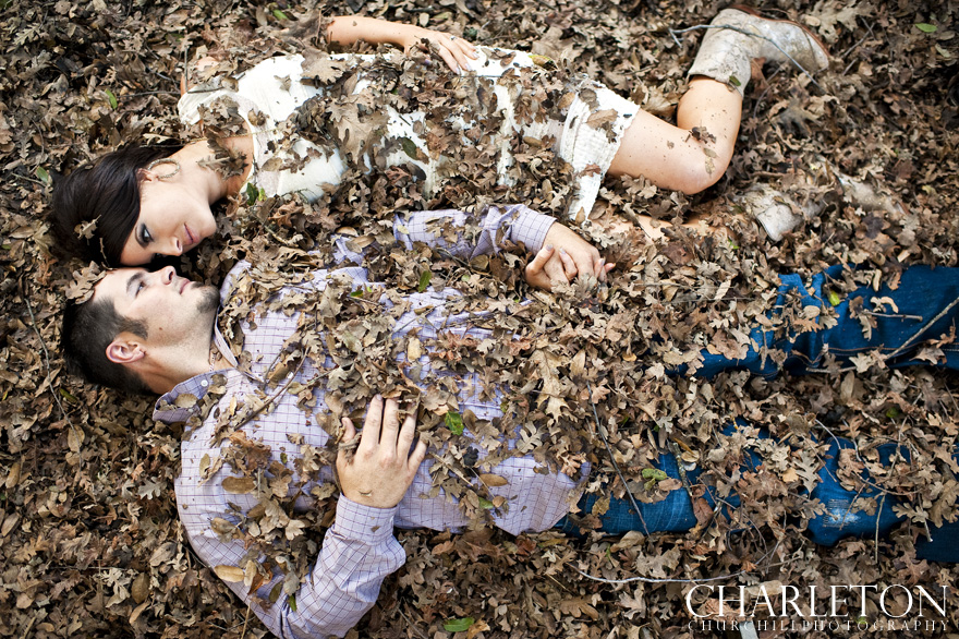amador county engagement session trash the dress