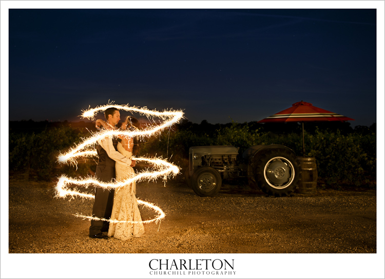 Amador County Wedding Photo of bride and groom in plymouth, ca. shenandoah valley
