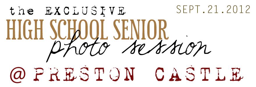 high school senior portrait exclusive photo shoot