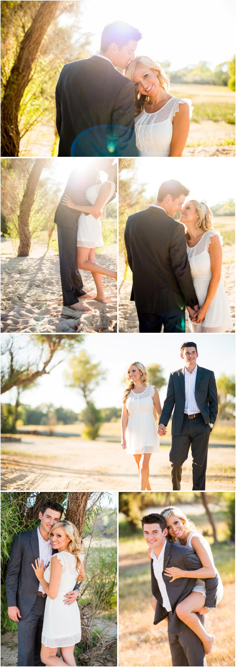 granite bay wedding photographer photographing couple engaged