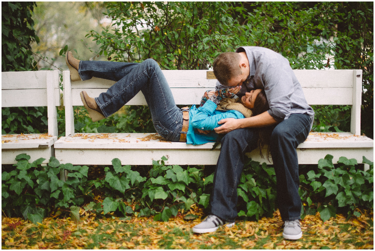 laughing and playing cute couple in Amador County photography