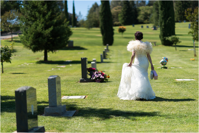 loomis grave site bride honoring father