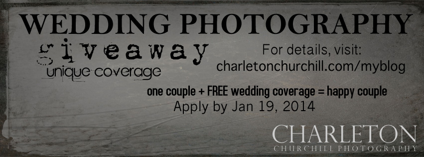 free wedding coverage on your giveaway
