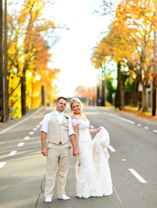 downtown sacramento vizcaya couple in street