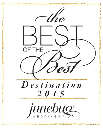 best destination wedding photographer award